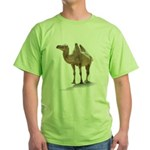 Hand Drawn Camel Green T-Shirt