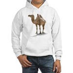 Hand Drawn Camel Hooded Sweatshirt