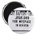 myspace jesus Magnet