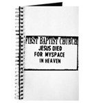 myspace jesus Journal