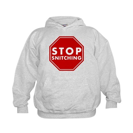 Stop Snitching Kids Hoodie