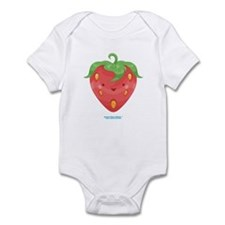 Kawaii Strawberry Infant Bodysuit