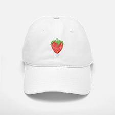 Kawaii Strawberry Baseball Baseball Cap