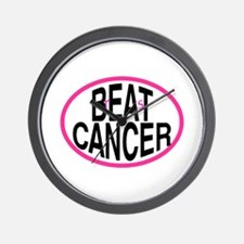 Beat Cancer + r&s - Wall Clock