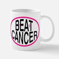 Beat Cancer + r&s - Mug