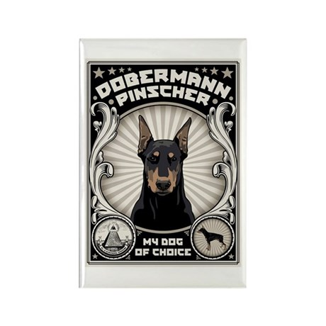 My Dog Of Choice Rectangle Magnet