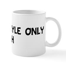Joshua Kyle Only VIH Mug