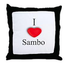 Sambo Throw Pillow