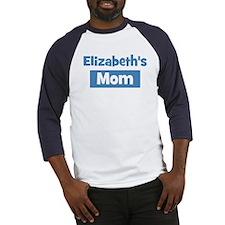 Elizabeths Mom Baseball Jersey