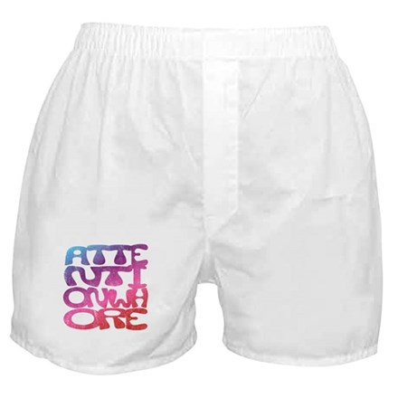 Attention Whore Boxer Shorts