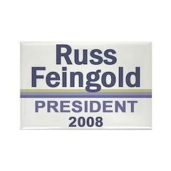 RUSS FEINGOLD 2008 Rectangle Magnet