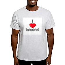 Shrovetide Football Ash Grey T-Shirt