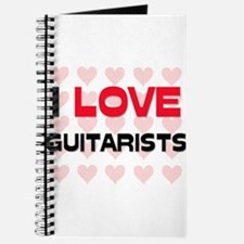 I LOVE GUITARISTS Journal