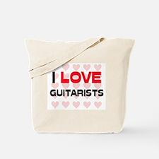 I LOVE GUITARISTS Tote Bag