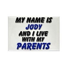my name is jody and I live with my parents Rectang