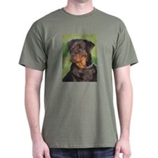 Hand Painted Rottweiler T-Shirt