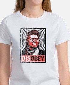 Disobey: Chief Joseph Women's T-Shirt
