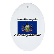 New Kensington Pennsylvania Oval Ornament