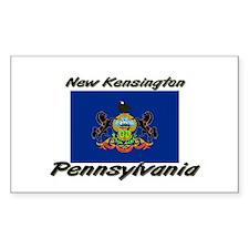 New Kensington Pennsylvania Rectangle Decal
