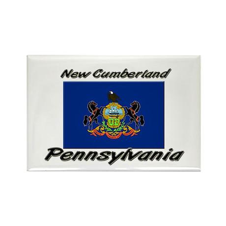 New Cumberland Pennsylvania Rectangle Magnet (10 p