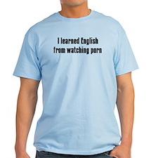 I learned English Men's T-Shirt