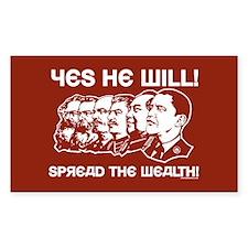 Anti-Obama Rectangle Decal