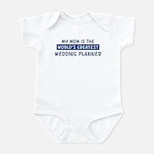 Wedding Planner Mom Infant Bodysuit