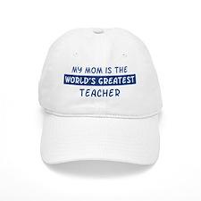 Teacher Mom Baseball Baseball Cap