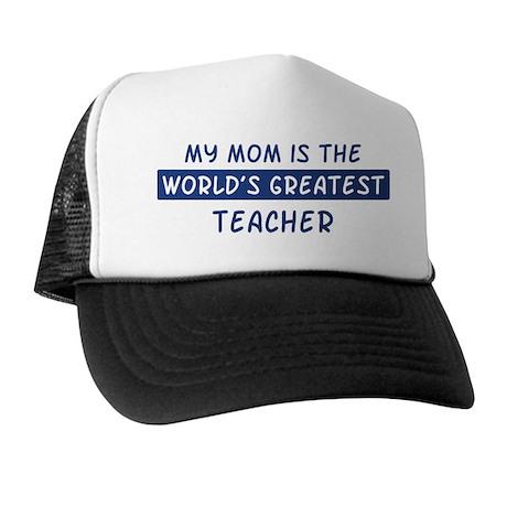 Teacher Mom Trucker Hat