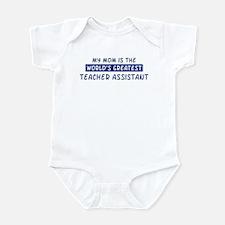 Teacher Assistant Mom Infant Bodysuit