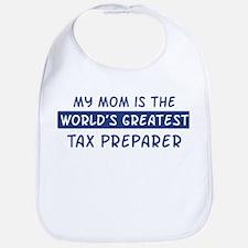 Tax Preparer Mom Bib