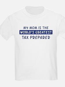 Tax Preparer Mom T-Shirt