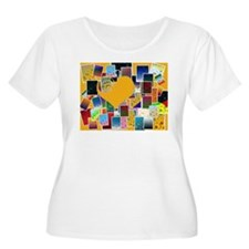 Swirl-o-Vision With Heart T-Shirt