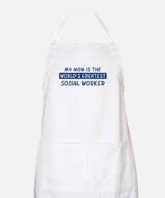 Social Worker Mom BBQ Apron