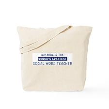 Social Work Teacher Mom Tote Bag