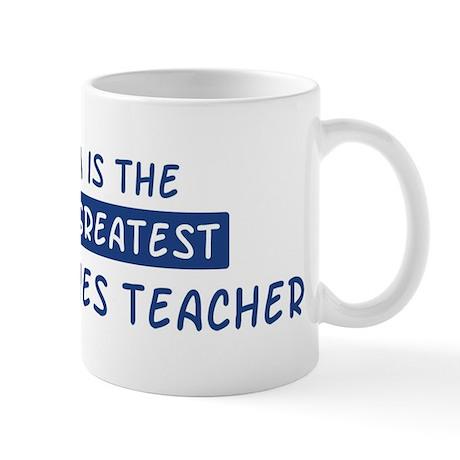 Social Studies Teacher Mom Mug