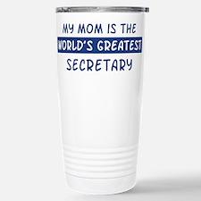 Secretary Mom Travel Mug