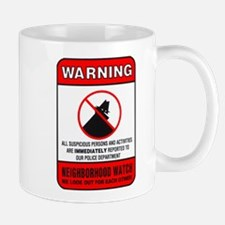neighborhood watch Mugs
