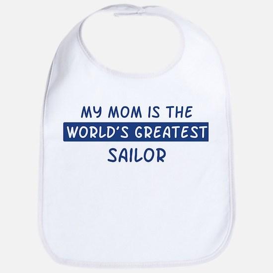 Sailor Mom Bib
