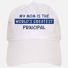 Principal Mom Baseball Baseball Cap