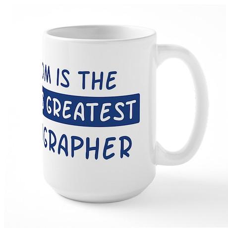 Photographer Mom Large Mug