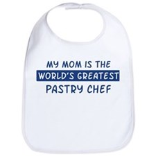 Pastry Chef Mom Bib