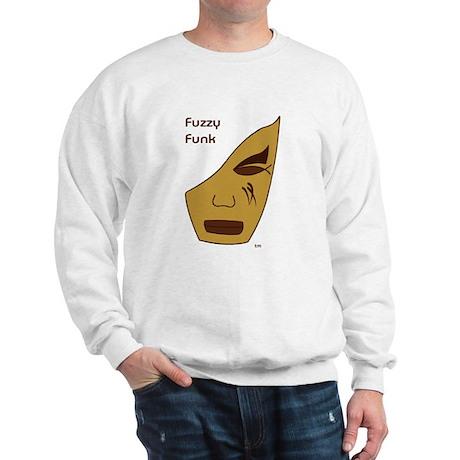 Fuzzy Funk Mask Sweatshirt