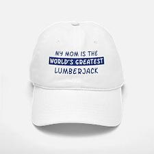 Lumberjack Mom Baseball Baseball Cap