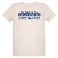 Office Manager Mom T-Shirt