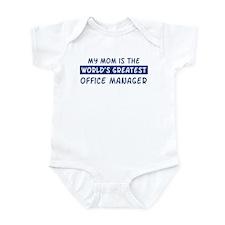 Office Manager Mom Infant Bodysuit