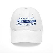 Legal Assistant Mom Baseball Cap