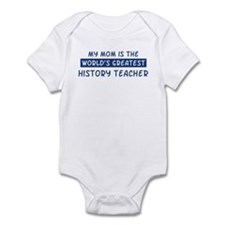 History Teacher Mom Infant Bodysuit