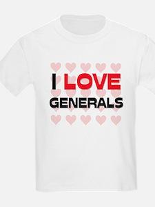 I LOVE GENERALS T-Shirt