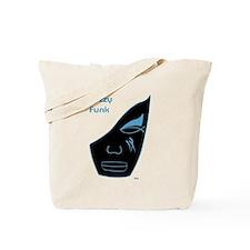 Fuzzy Funk Mask Tote Bag